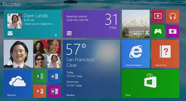 ���� ����� ����� Windows 8.1