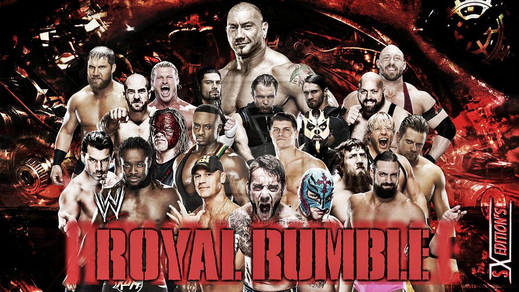 ����� ������ �������� ����� ����� 2014 , ����� ��� �������� Royal Rumble2014