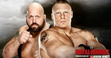 Results Brock Lesnar against Big Show at the Royal Rumble 2014