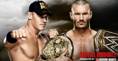 The winner in the face of the title WWE Heavyweight between Randy Orton and John Cena at the Royal Rumble 2014