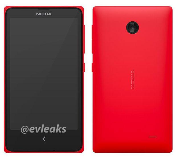 ��� ����� ����� ����� Nokia ������ X ����� android