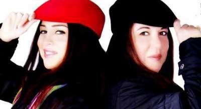 صور مى عز الدين مع والدتها , صور والدة الفنانة مى عز الدين
