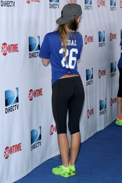 ��� ���� ����� �� DirecTV Celebrity Beach Bowl ������� 2014