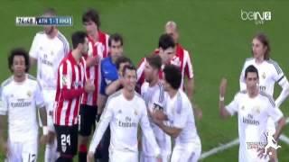 يوتيوب طرد كريستيانو رونالدو في مباراة أتلتيك بيلباو اليوم 2/2/2014