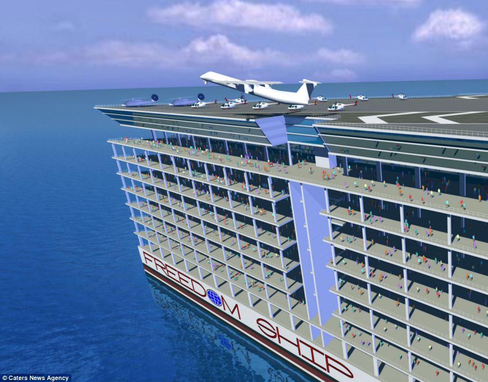 صور سفينة تايتانيك الجديدة | صور سفينة الحريه 2014