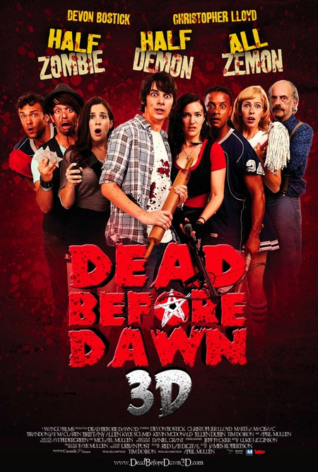����� ���� Dead Before Dawn 3D posters - Dead Before Dawn 3D