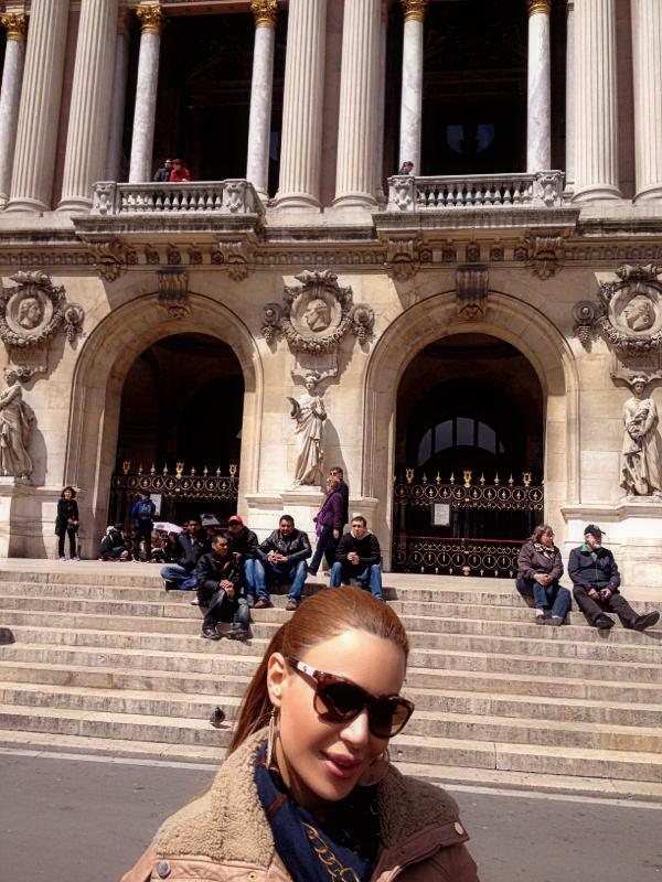 صور فيفيان مراد في باريس - احدث صور فيفيان مراد