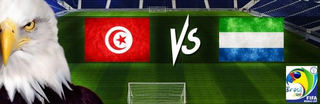 Tunisie vs Sierra Leone 8/6/2013