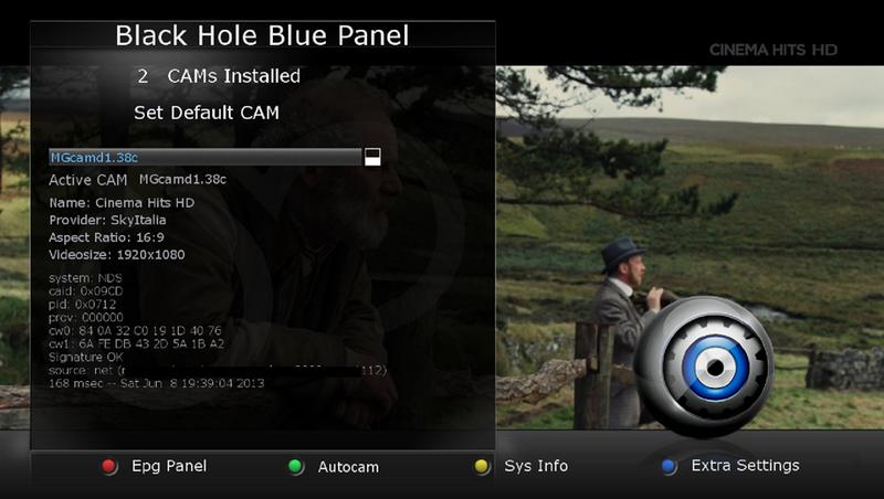 skin MEGA32 HD only BlackHole 2.xx
