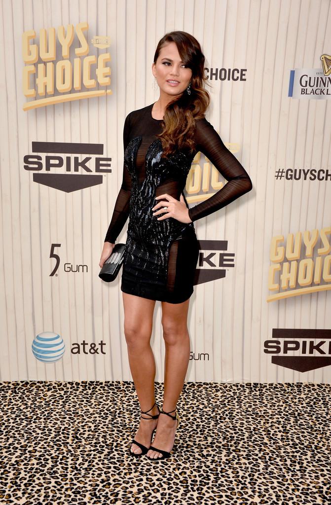 ��� Chrissy Teigen �� Spike TV Guys Choice 2013