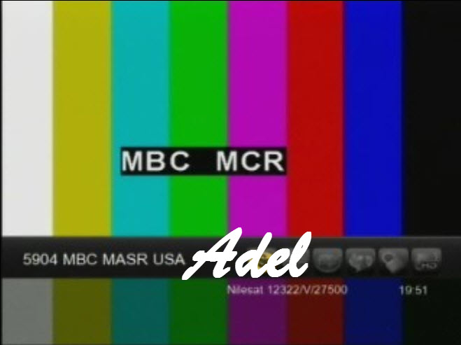 ���� ��� ���� ���� MBC MASR USA -��� ��� Nilesat 102/201 @ 7� West