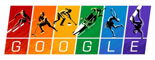 جوجل يحتفل اليوم بالالعاب الشتوية - الميثاق الأولمبي 2014