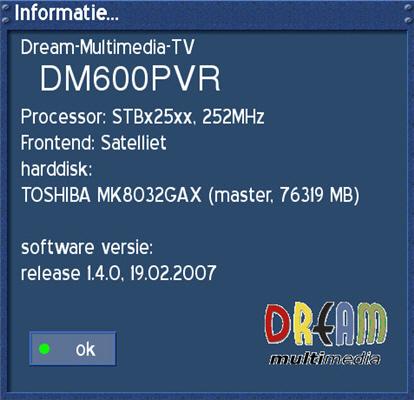 مواصفات ومميزات dm 600 pvr