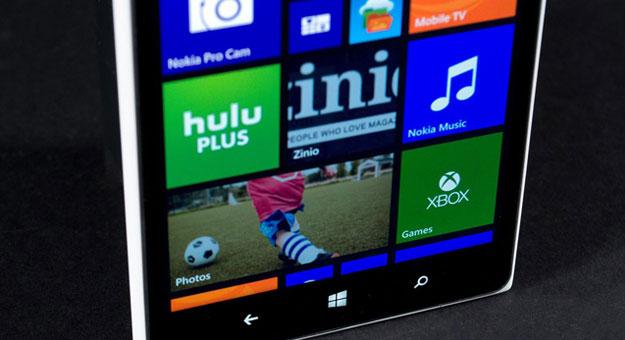����� �������� ���� ����� Nokia Lumia Icon