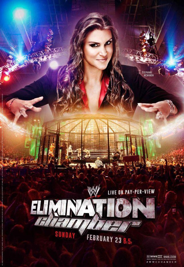 ��� ����� ������ ���� ������� Elimination Chamber 2014