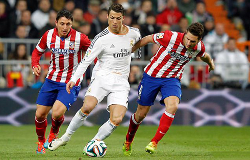 Atletico Madrid vs Real Madrid 11/2/2014