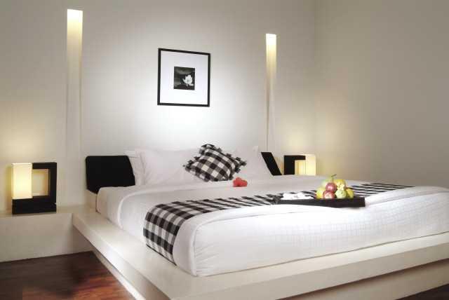 صور تصميمات غرف النوم للمتزوجين 2014 ، صور ديكورات غرف نوم رومانسية رقيقة للعرسان 2014