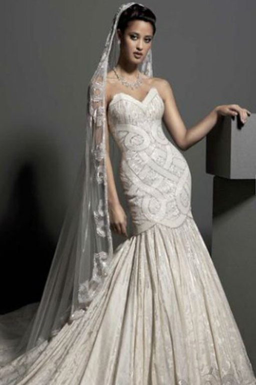 b2bb0132d795f فساتين زفاف المصمم وليد عطا الله 2014