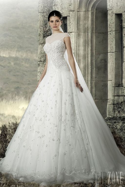 a863cf175 صور فساتين زفاف لبنانية 2014 , افخم موديلات فساتين عرائس لبنانية 2014