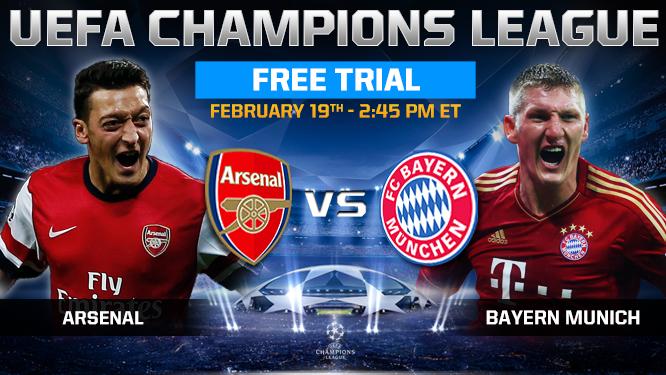 Bayern Munich vs Arsenal Goals today 19/2/2014 youtube