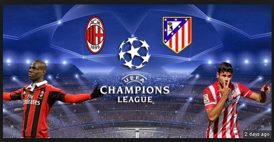 AC Milan vs Atl�tico Madrid 19/2/2014 mercredi Ligue des Champions