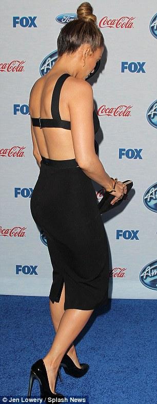 صور جنيفر لوبيز في برنامج American Idol 2014