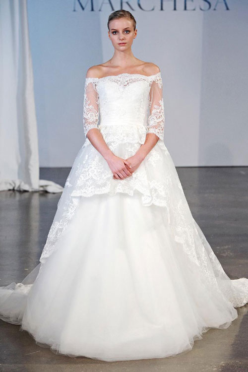 82c6b1853 صور فساتين زفاف سورية جميلة 2014 , صور فساتين أفراح بنات سوريا 2014