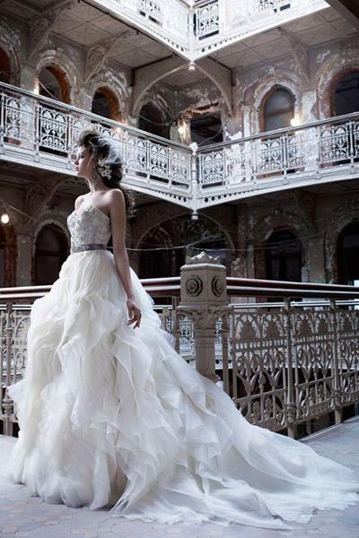 eec967daf صور فساتين زفاف أردنية رهيبة 2014 , صور فساتين أفراح بنات الاردن 2014