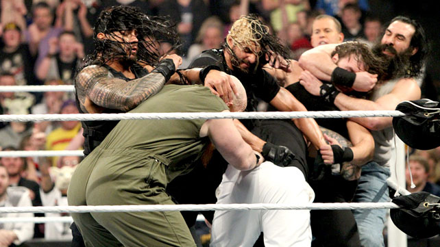 The Wyatt Family def. The Shield , Elimination Chamber Matches 2014