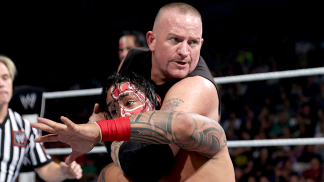 WWE Tag Team Champions The New Age Outlaws def. The Usos ,Elimination Chamber Matches Results 2014
