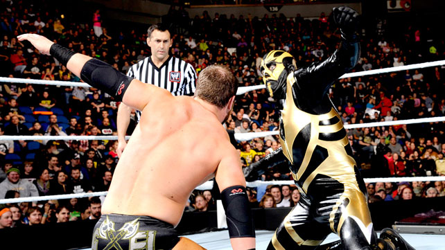Cody Rhodes & Goldust def. Ryback & Curtis Axel ,Elimination Chamber Matches Results 2014