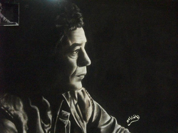 بالصور هانى إبراهيم فنان مصري يحول الشيكولاتة الى تماثيل وبورتريهات جميلة