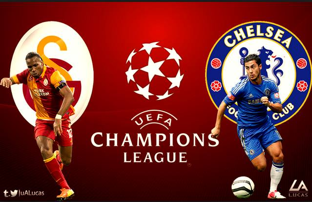 Chelsea vs Galatasaray Champions League 26-2-2014