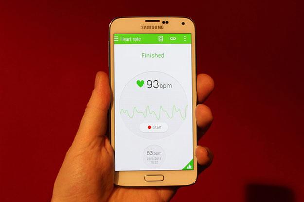 ������ ���������� ������� ����� �� ���� ������� Galaxy S5