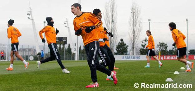 صور تدريبات ريال مدريد استعدادا لمباراة أتلتيكو مدريد يوم الاحد 2/3/2014