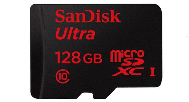 فلاشة جديدة بمساحة 128 جيجا من شركة Sandisk