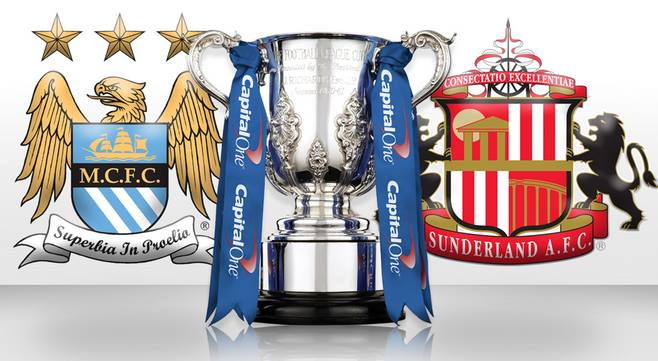 Manchester City Vs Sunderland sunday 2-3-2014 Capital One Cup Final