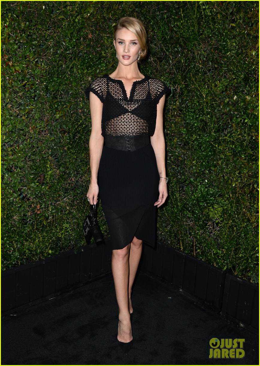 روزي هنتنغتون وايتلي Pre-Oscars Party