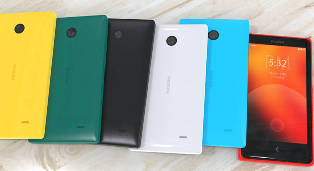 ���� ��� ���� ����� ��� Nokia X Android �� ����� ������