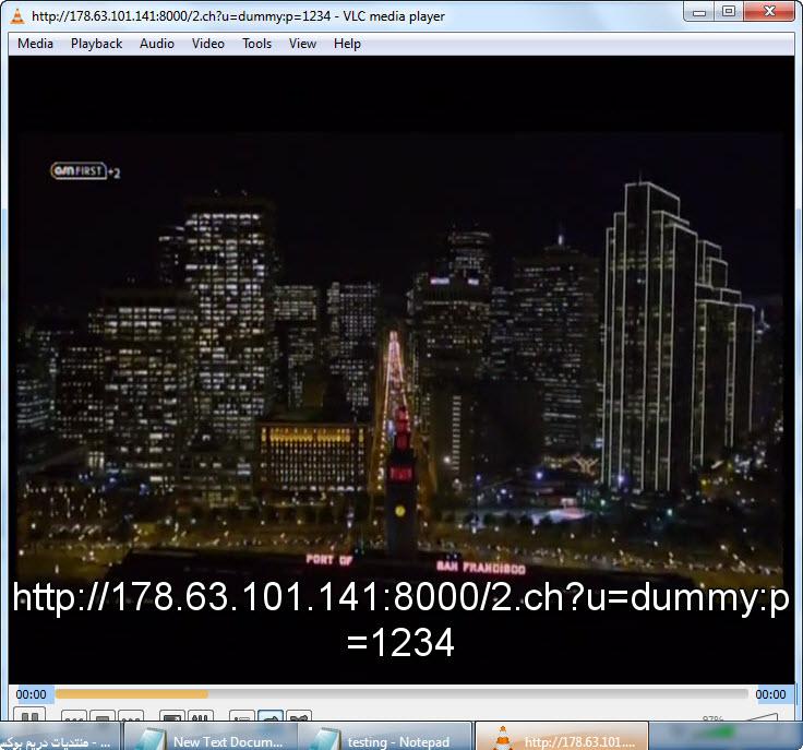 ����� ����� ������� �������� �� ����� IPTV ��� ������ VLC media player