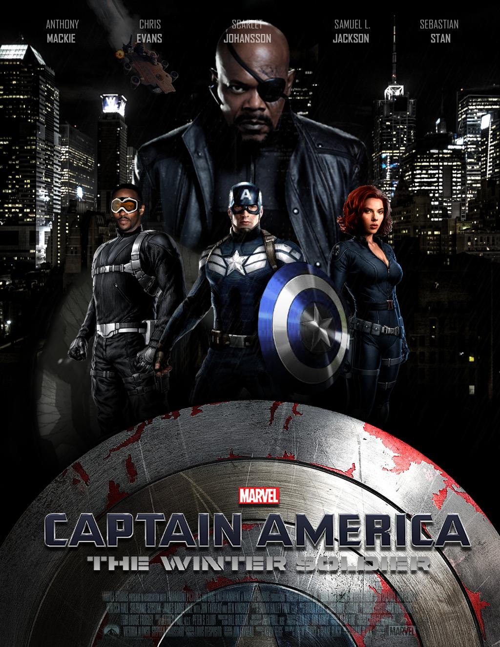 ������� ���� Captain america the winter soldier