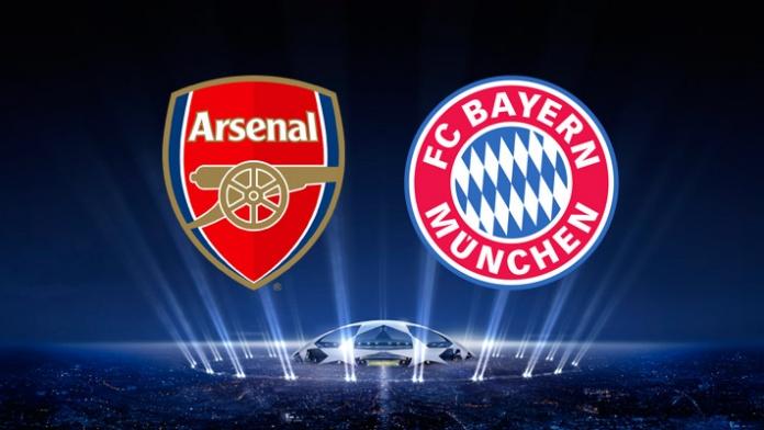 Arsenal vs Bayern Munich UEFA Champions League Tuesday 11/3/2014