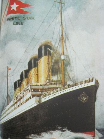القصة الكاملة لحادثة غرق سفينة تيتانيك , معلومات عن سفينة تيتانيك