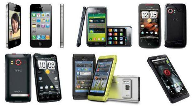 3 ������� �� ������ �� ������� ������ Smart phones
