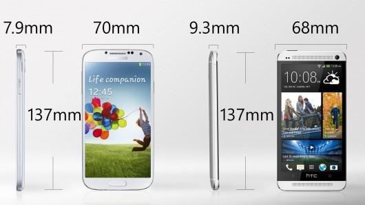 ����� - ������ ��� ���� Galaxy S4 � ���� HTC One �� ���������