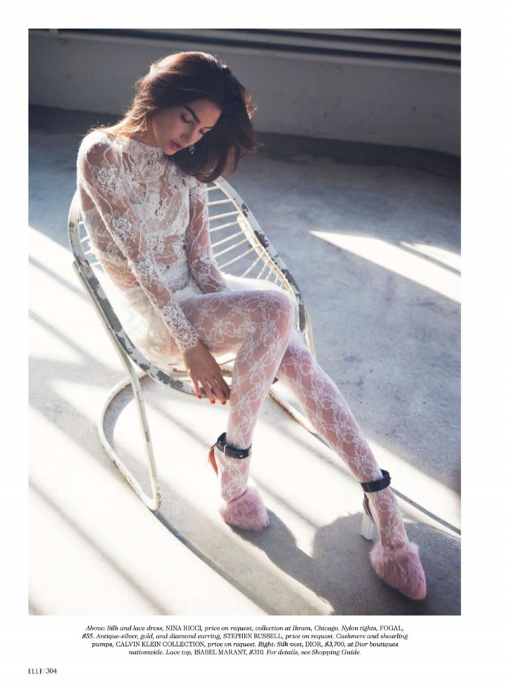 ��� ���� ������� ��� ���� Elle ��������� 2014 , ���� ��� ��� ���� ������� 2015 Lily Aldridge