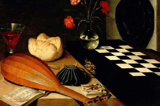 ��� ���� ������ ����� ����� Still-life with Chessboard