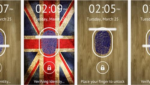����� ����� Fingerprint Lock ������ ��������� 2014