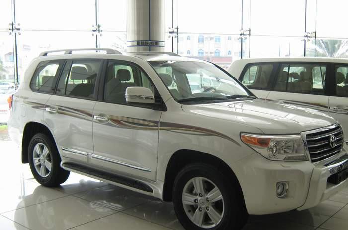��� �������� ����� ������ ��������� �� ��� �� 2014 Toyota Land Cruiser GXR