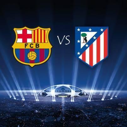 أهداف مباراة برشلونة وأتلتيكو مدريد في دوري ابطال اوروبا اليوم الثلاثاء 1/4/2014